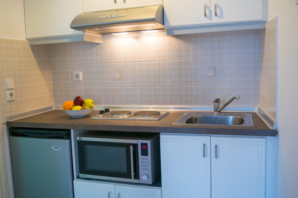 Deluxe apartment kitchen