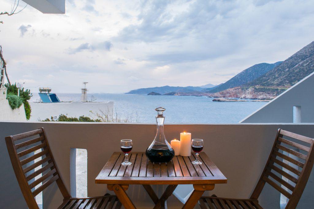 Standard one-bedroom apartment, balcony sea-view