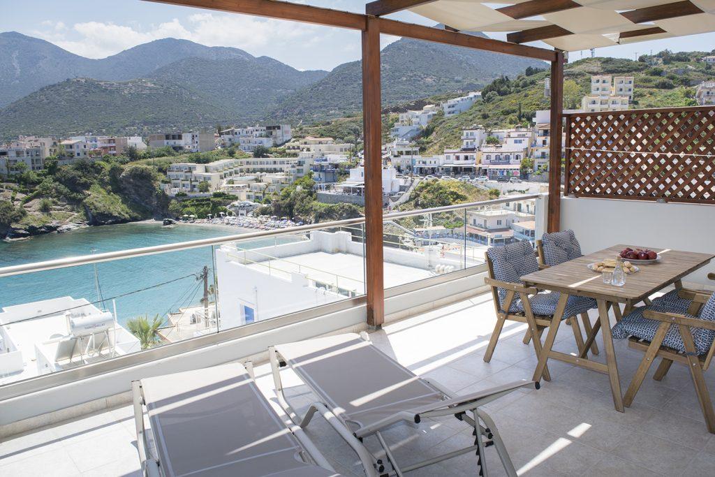 Deluxe apartment balcony